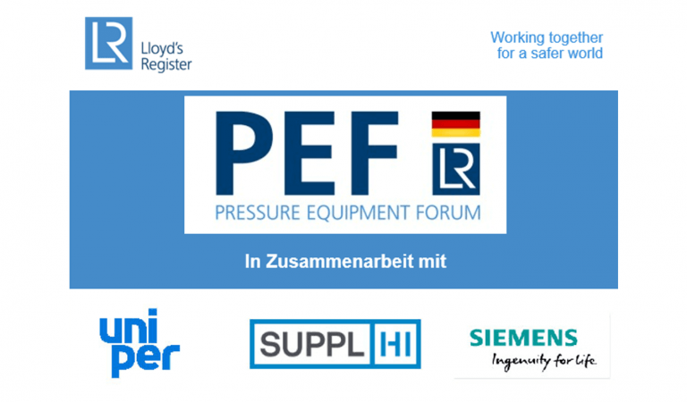 SupplHi participates in the Pressure Equipment Forum in Frankfurt