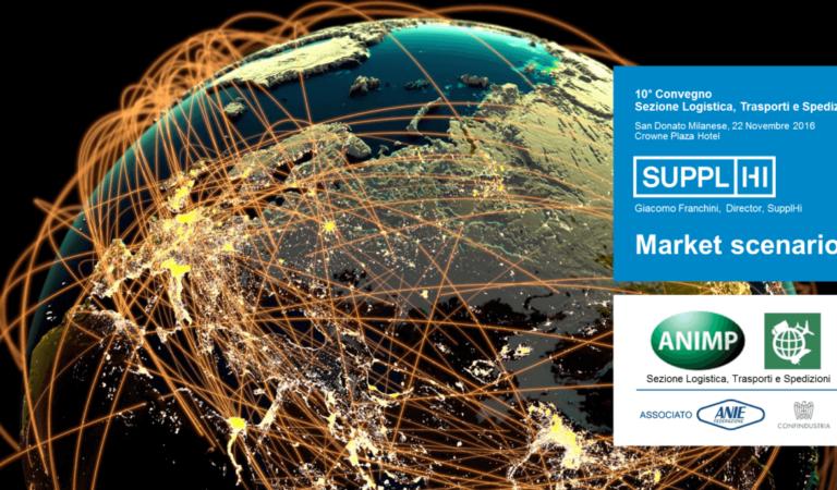 """SupplHi presented the """"Market Scenario"""" for Logistics"""