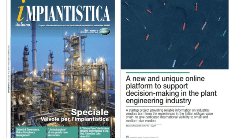 SupplHi published an article on a leading industrial magazine