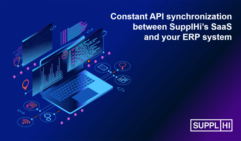 New release of APIs for system integration between SupplHi and your ERP
