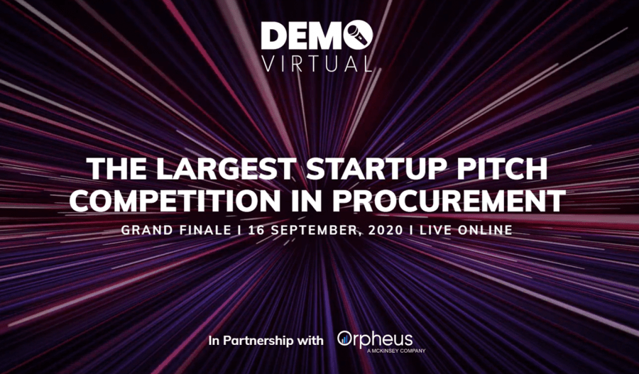 SupplHi selected by CPOs and Digital Innovation Managers among the semi-finalists for 2020 DEMO Virtual organized by Digital Procurement World