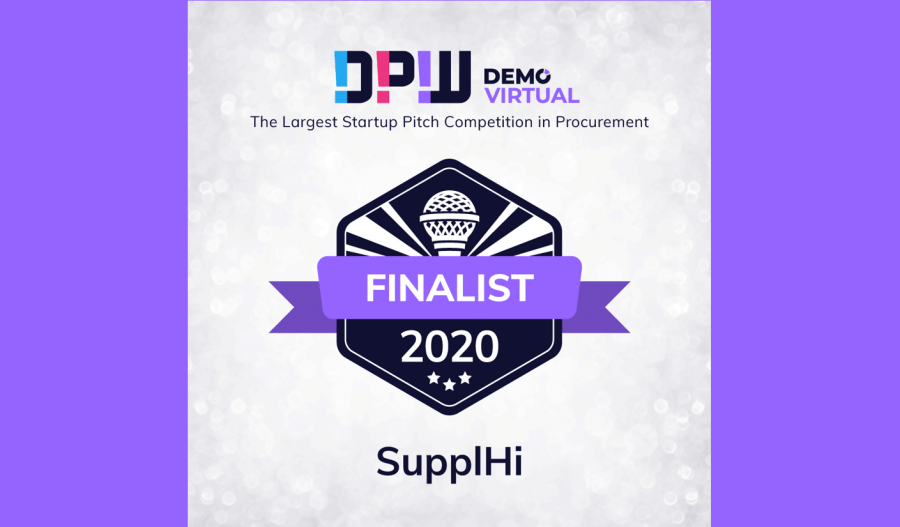 SupplHi announced among 3 Finalists in Source-to-Pay category that will pitch at Digital Procurement World's 2020 DEMO Virtual Grand Finale